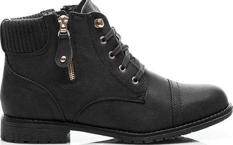 Zimní kotníkové boty 67605B Velikost: 40