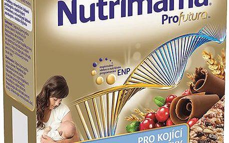 2x Nutrilon NUTRIMAMA Profutura cereální tyčinky Brusinky a Čokoláda (5x 40g)