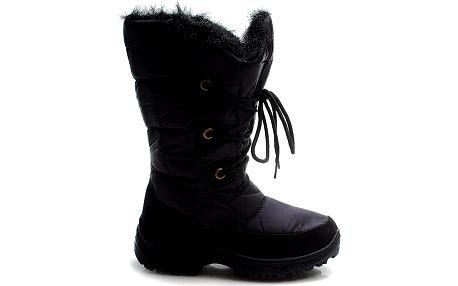 Černé teplé sněhule IL0073B Velikost: 39