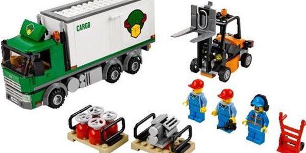 LEGO CITY 60020 nakládka kamionu