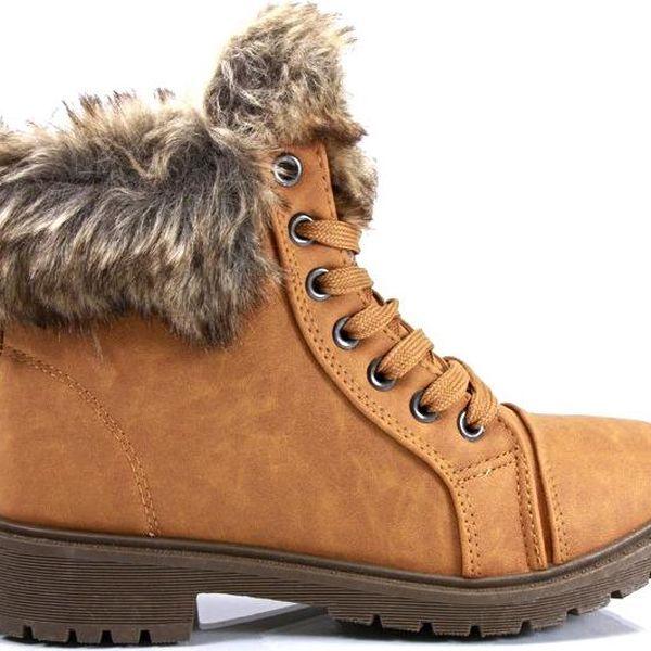 Zimní kotníkové boty 29092CA Velikost: 39