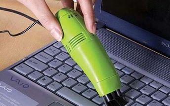 Mini vysavač na klávesnici USB
