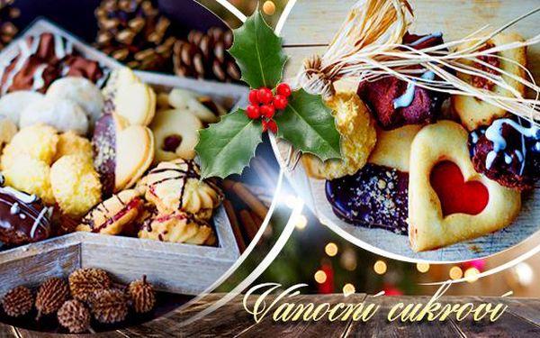 VÁNOČNÍ CUKROVÍ 1 až 5 kg! Mix 10 druhů nebo vanilkové rohlíčky! Linecké, ořechové, kokosky, pusinky, kakaové...!