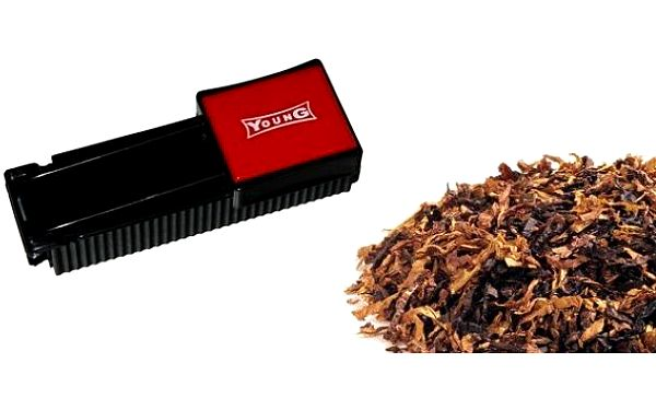 YOUNG profi plnička dutinek vlastním tabákem, udělejte si vlastní cigarety dle chuti a nálady a ušetřete za kupování drahých cigaret!