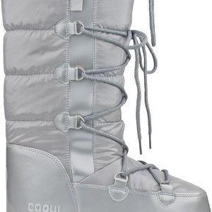 Dámské sněhule Coqui Snowboot, stříbrné