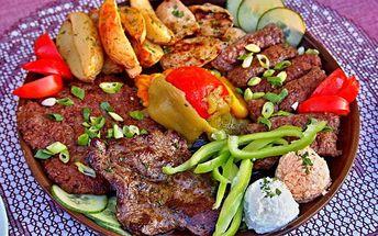 30% sleva na všechny masové speciality v balkánské restauraci Boka. Zažijte chuť Středomoří v Praze 4!