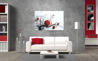 Moderní ručně malované obrazy s výběrem ze 6 motivů