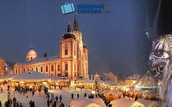 Obří průvod čertů v rakouském Mariazell - 28.11.2015! Autobusová doprava a delegát v ceně! Nasajte vánoční atmosféru s čerty, perníkovou chaloupkou, při rozsvěcení adventních svící nebo třeba s likérem v ruce! S průvodcem projdete historické centrum a bud