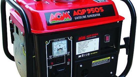 Benzínová elektrocentrála AGM AGP950S, 0,65-0,8kW Villager