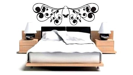Černý motýl samolepka Ambiance