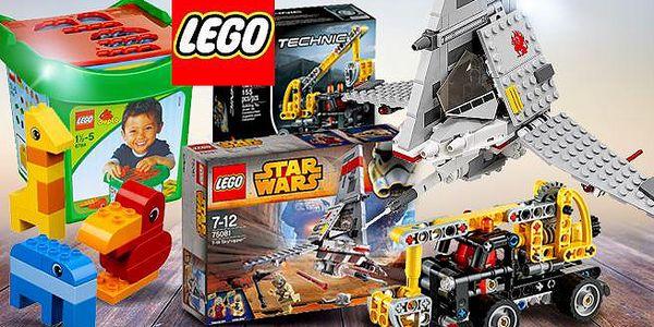 Legendární nesmrtelné LEGO pro děti od 1,5 do 14 let! Ninjago, Star Wars, rozlišování tvarů, pracovní plošina!