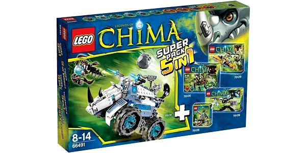 Lego Chima 66491 super balení 5v1