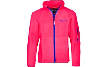 Trollkids Dívčí fleecová bunda/mikina - růžová