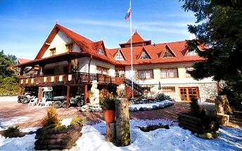 3 až 6 dní s polopenzí a slevou na skipasy v penzionu Vila Astra na Slovensku až pro 4