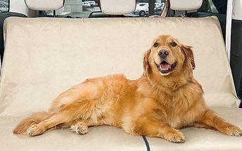 Ochranný potah na zadní sedadla auta pro zvířecí mazlíčky
