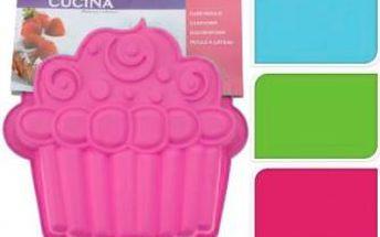 Forma na dort ve tvaru muffinu, růžová ProGarden KO-641500970cerv Forma na dort ve tvaru muffinu, růžová ProGarden KO-641500970cerv