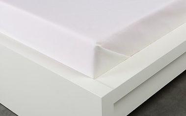 XPOSE ® Bavlněné prostěradlo - smetanová 140x225 cm