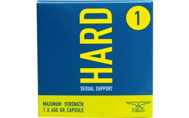 Mister B HARD Sexual Support, kapsle pro tvrdší erekci 1 ks