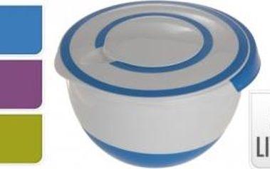 Mísa s mixovacím víkem 5 l, modrá ProGarden KO-Y54220530modr