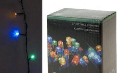 Vánoční světelný řetěz venkovní, 240 LED, barevný ProGarden KO-AX8206040