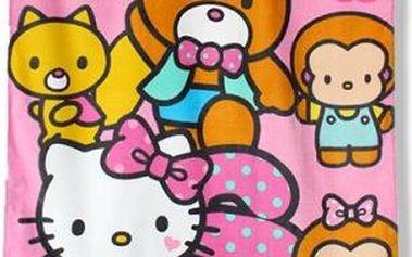 Setino Dětská osuška HELLO KITTY 70x140 cm