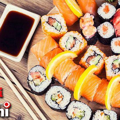 Vynikající sushi a další veškerá jídla z japonské restaurace Sushi Oishi za poloviční cenu!