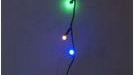 Vánoční světelný řetěz venkovní, 240 LED, barevný ProGarden KO-AX8207430