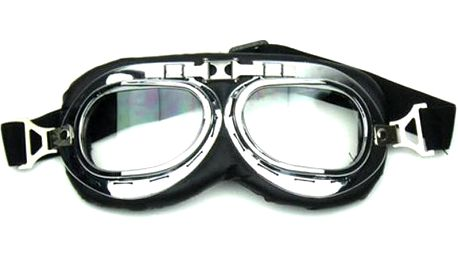 Motorkářské retro brýle - 2 barvy skel