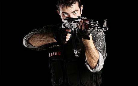 Střílení ze zbraní speciálních jednotek!