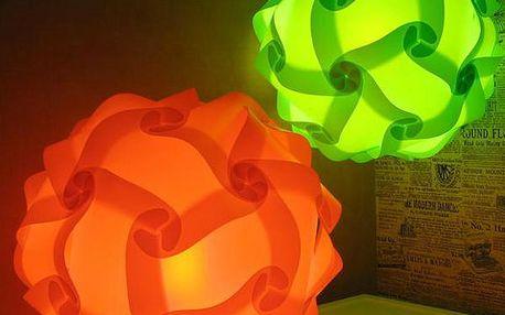 Vyzdobte si byt originální puzzle lampou