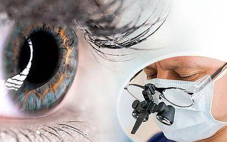 Bezbolestná laserová operace očí s kompletní péčí v Očním centru Dr. Rau v Praze! Odstraníme krátkozrakost dalekozrakost i astigmatismus! Platnost do konce února, vhodné jako vánoční dárek.