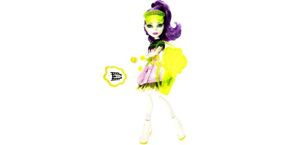 Monster High Sportovní příšerky Spectra Vondergeist