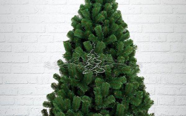 Umělý vánoční stromek - Borovice Silver hustá 180 cm