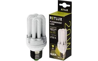 Žárovka RETLUX RFL 61 6U-T2 20W E27