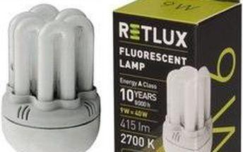 Žárovka RETLUX RFL 62 6U-T2 9W E14