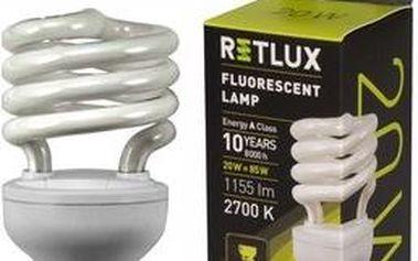 Žárovka RETLUX RFL 11 SPIRAL-T2 20W E27
