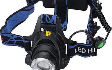 LED voděodolná čelovka