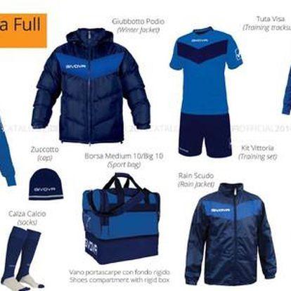 8dílný sportovní set GIVOVA - Box Vittoria Full