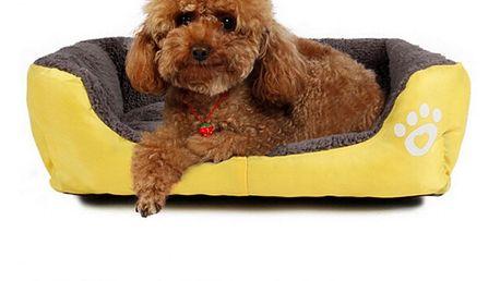 Pohodlný pelíšek pro malé psy a kočky
