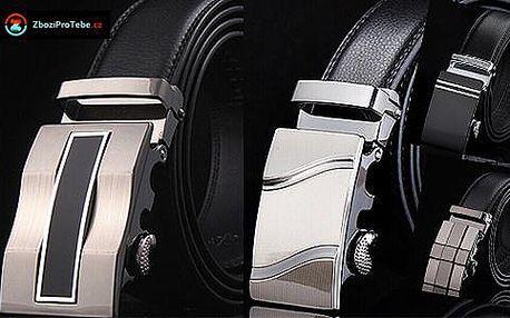 Elegantní pánský kožený pásek v dárkovém balení