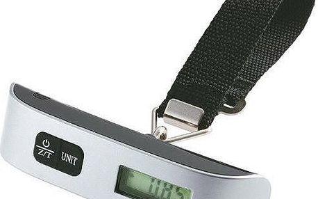 Cestovní váha na zavazadla s LCD displejem a popruhem
