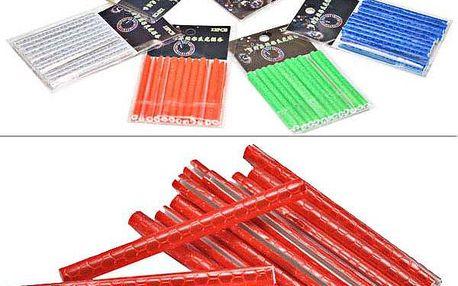 12 ks reflexních trubiček na výplet kola - 6 barev