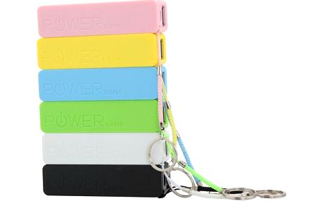 Nabíjecí stanice Micro USB 2600mAh - více barev