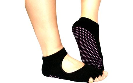 Protiskluzové ponožky na jógu