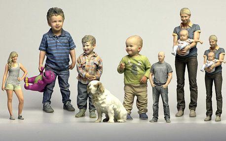 3D Busta - Působivé zachycení reálné postavy