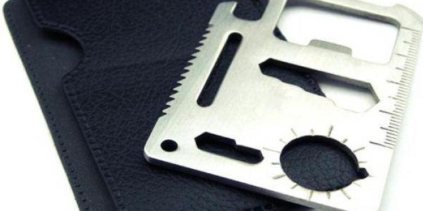 Multifunkční kapesní nástroj - survival