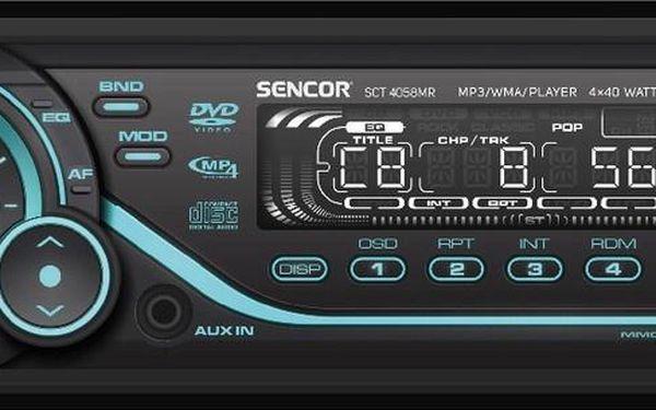 Autorádio Sencor SCT 4058MR