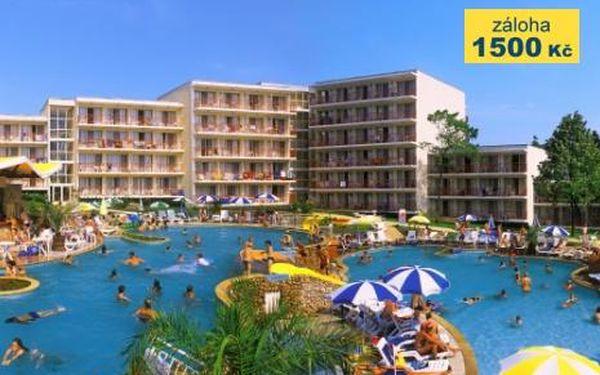 Bulharsko, oblast Albena, doprava letecky, all Inclusive, ubytování v 3* hotelu na 8 dní