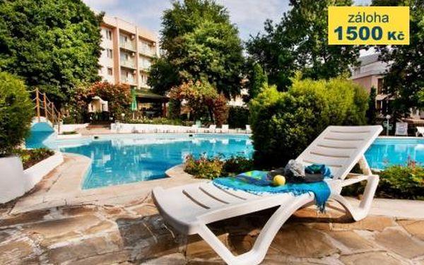 Bulharsko, oblast Zlaté Písky, doprava letecky, polopenze, ubytování v 3* hotelu na 8 dní