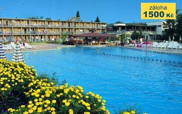 Bulharsko, oblast Slunečné Pobřeží, doprava letecky, polopenze, ubytování v 3* hotelu na 8 dní